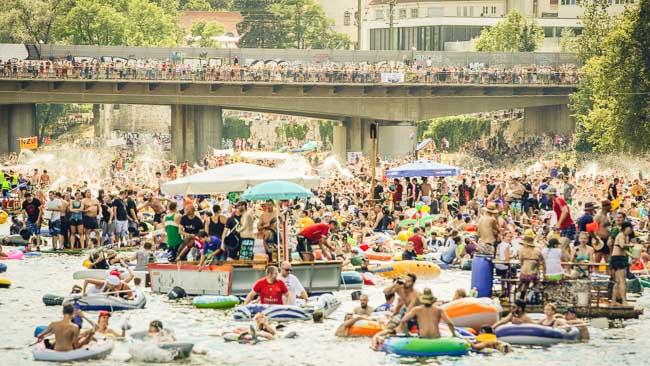 Aller Regulierungswut zum Trotz: Die Donau wird zum Tollhaus